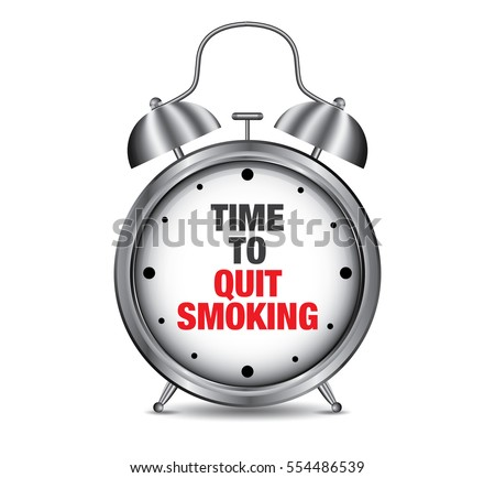 time to quit smoking on retro
