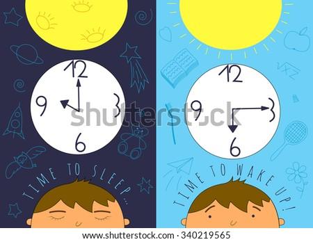 time to sleep and time to wake