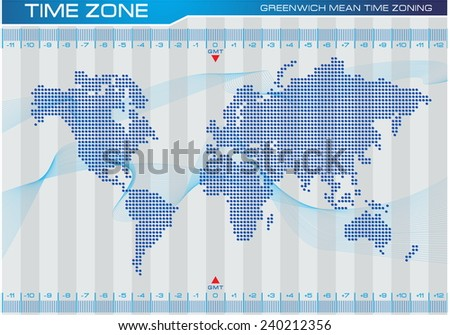 Time zone map vector download free vector art stock graphics images time zone and world map illustration for internet content brochure poster easy gumiabroncs Images