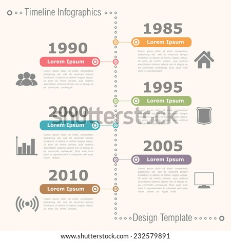 Infographic timeline free