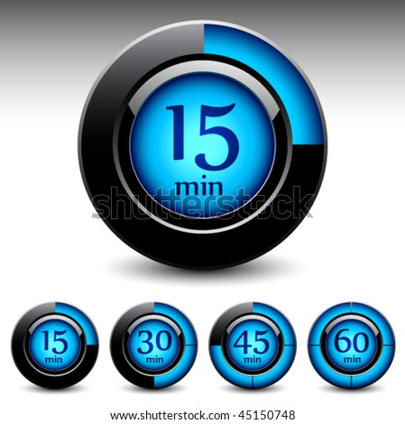 timer display interfase vector