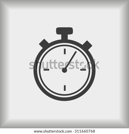 Timer vector  icon