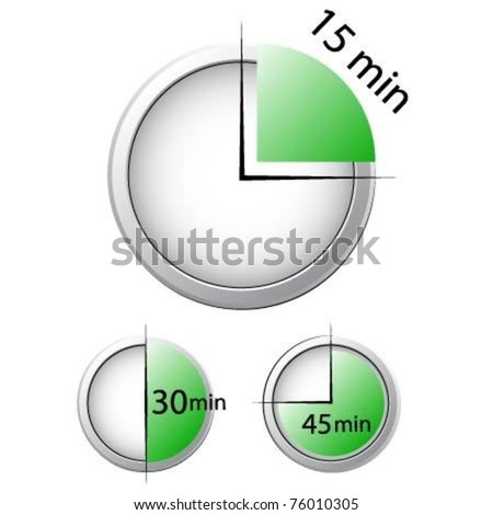 Timer Vector Illustration