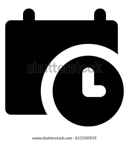 Timetable Vector Icon