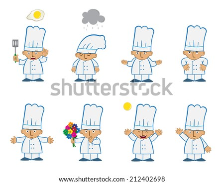 tiny chef basic   cute set of