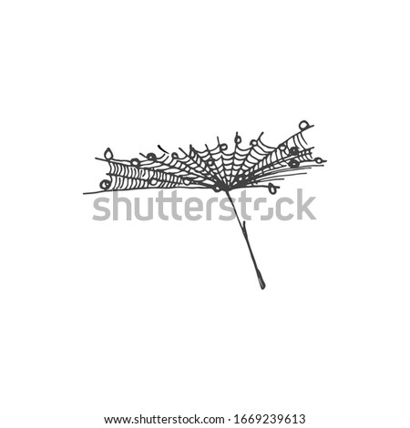 tiny dandelion seed covered in