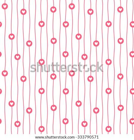 tiny hearts  circles and wavy