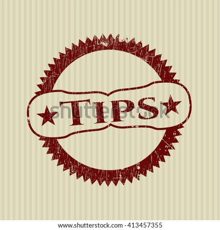 Tips rubber grunge seal