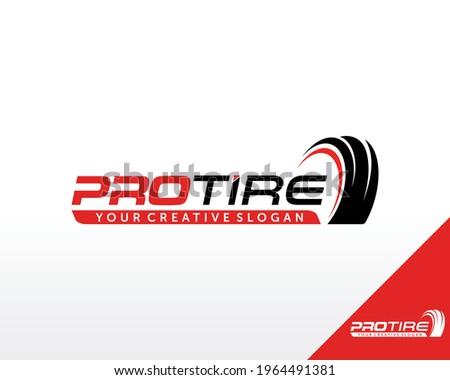 Tire Logo Design. Automotive, Car Showroom, Car Dealer Logo Design Vector