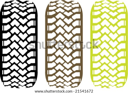 clipart tire tracks. stock vector : Tire Track Off