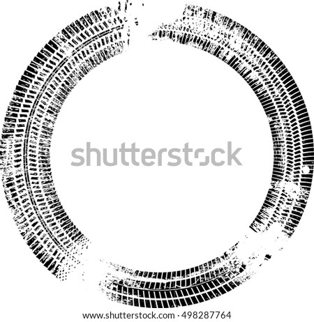 vector images illustrations and cliparts tire track vector round rh hqvectors com