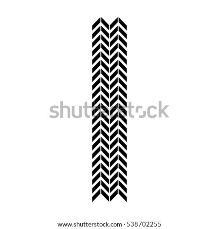 tire tracks mark isolated icon vector illustration design