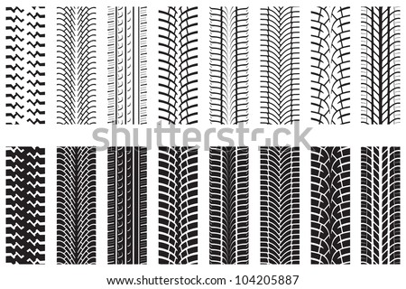 tire tracks - download free vector art, stock graphics & images
