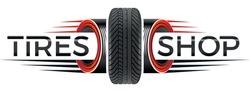 tires shop logo - logo with tires