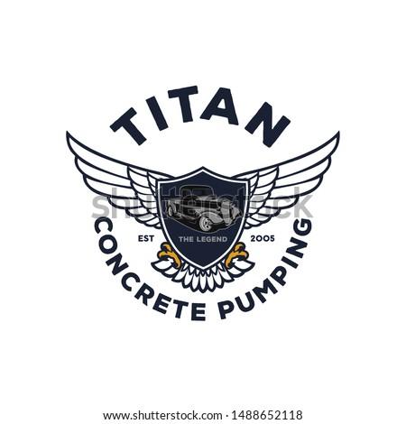 titan concrete pumping logo