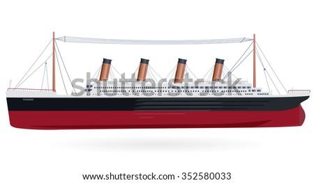 titanic legendary colossal boat