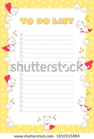 to do list planner decorated