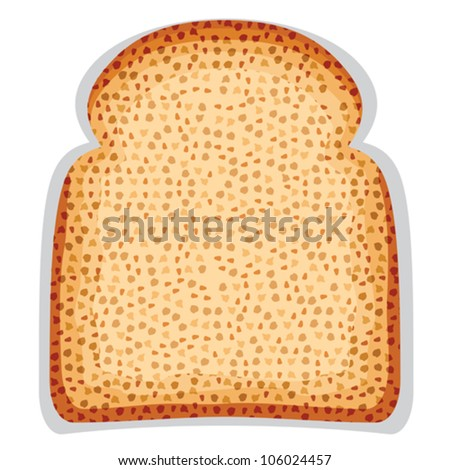 toast bread slice