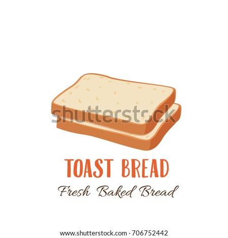 toast bread slice icon for