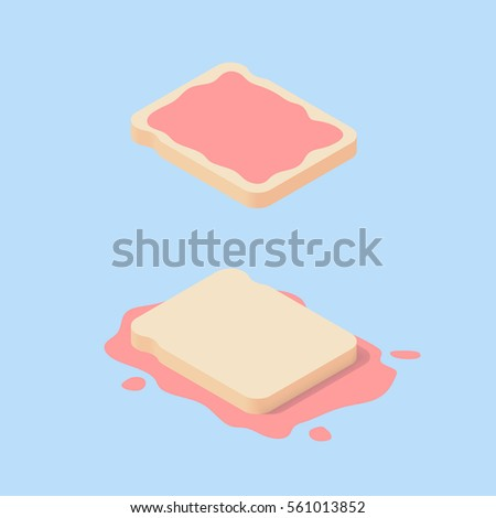 toast bread with red strawberry