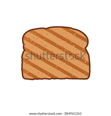toast icon toast vector