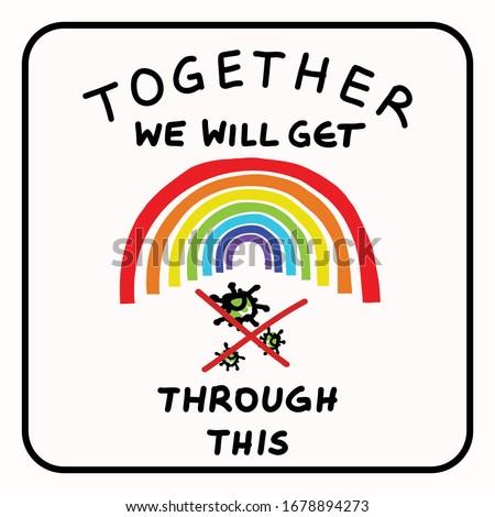 together rainbow virus fight