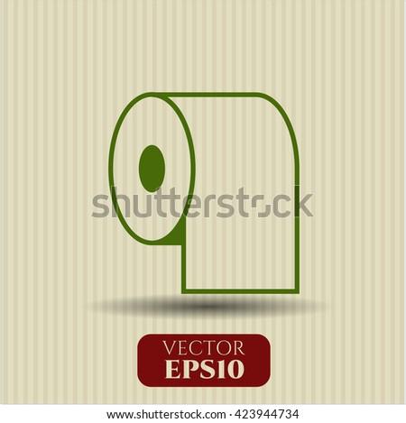 Toilet Paper symbol