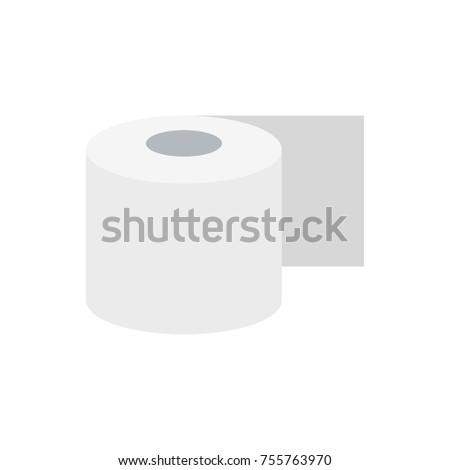 Toilet paper. vector illustration
