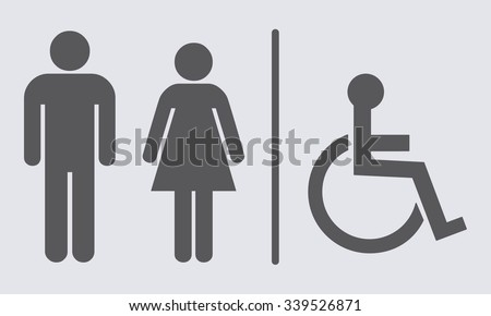 Bathroom Sign Vector Free Download restroom icons - download free vector art, stock graphics & images