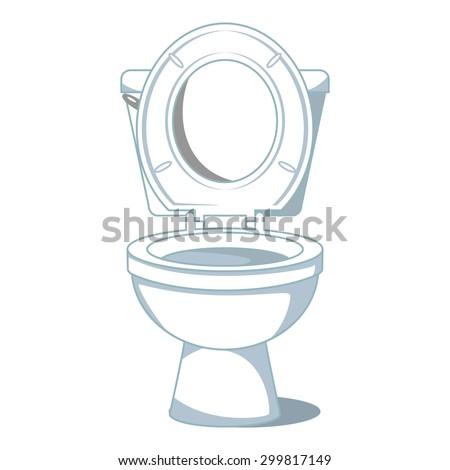 Toilet, vector illustration