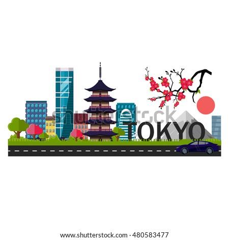 tokyo  japan capital logo