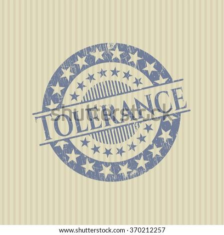 Tolerance grunge seal