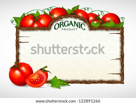 tomato menu board