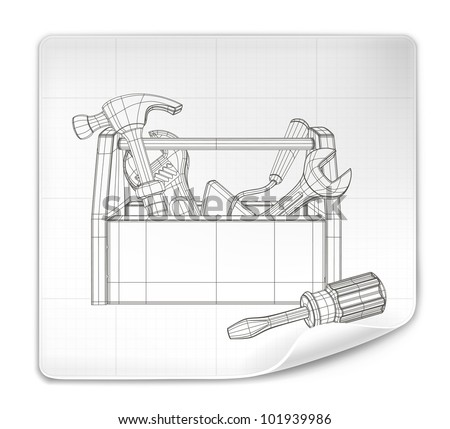 Wrench Tool Drawings - Download Free Vector Art, Stock Graphics & Images