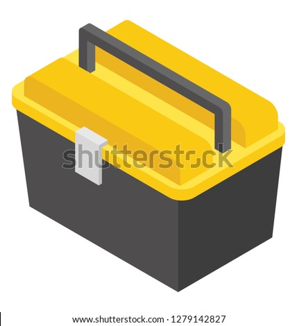 Tool kit isometric icon