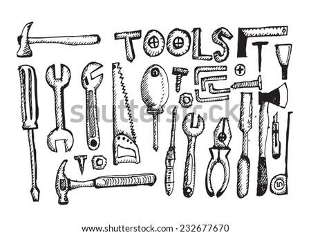 Tool Set Hand Draw