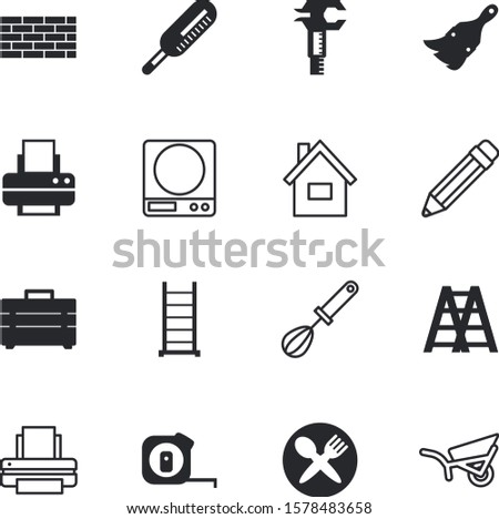tool vector icon set such as: communication, brickwork, open, share, length, sweet, mass, table, kilogram, transport, cold, illustrations, mechanic, interface, lifestyle, education, weigh, whip