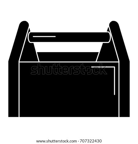 toolbox construction empty isolated icon