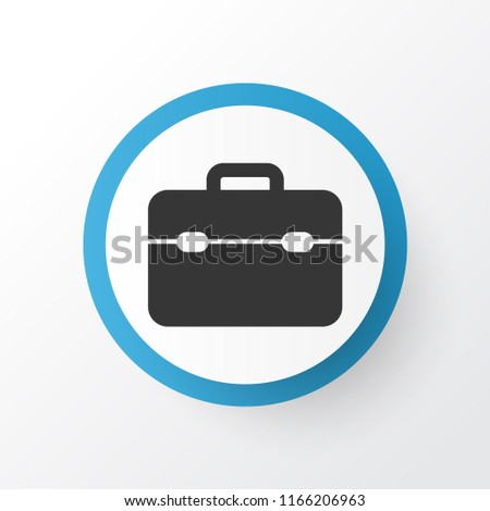 Toolbox icon symbol. Premium quality isolated toolkit element in trendy style.