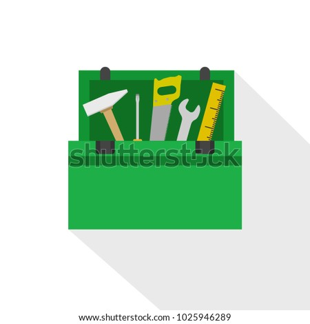 Toolbox icon. Vector illustration.