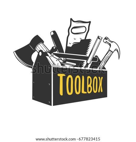 Toolbox. Logo templates.