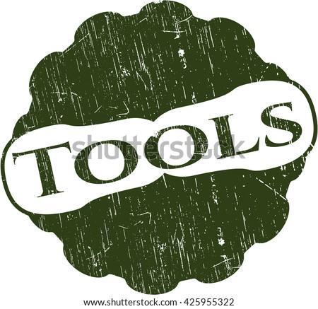 Tools grunge stamp