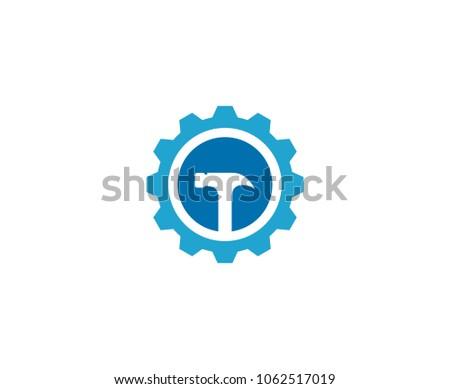Tools hammer logo