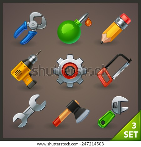 tools icon set-3