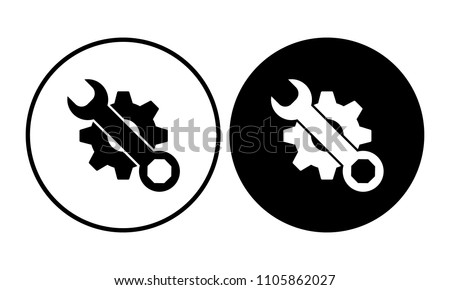 Tools icon. Vector illustration