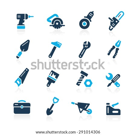 Tools Icons // Azure Series