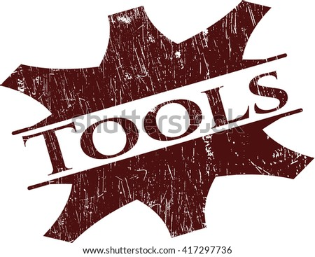 Tools rubber grunge texture stamp