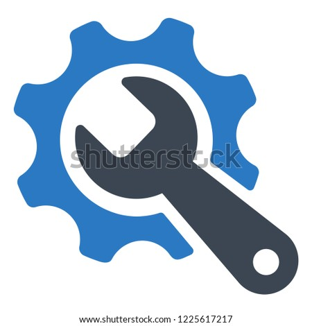 tools, wrench icon