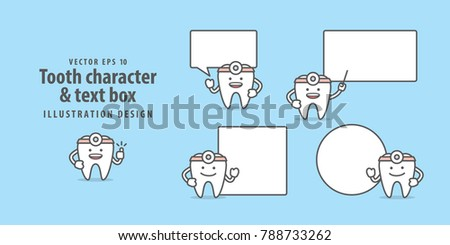 tooth doctor character   text
