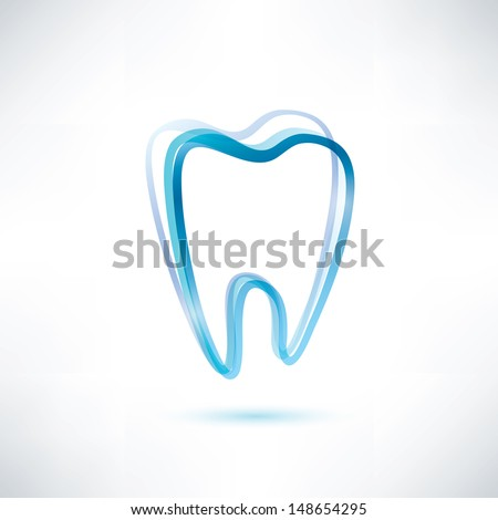 tooth vector symbol